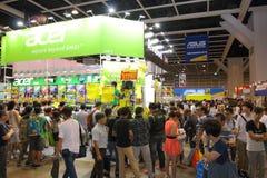 Hong Kong Computer y festival 2014 de las comunicaciones Fotos de archivo libres de regalías