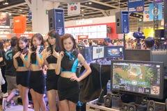 Hong Kong Computer y festival 2014 de las comunicaciones Imagen de archivo