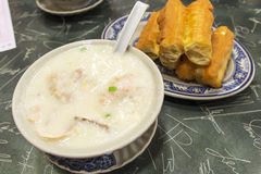Hong Kong congee stock images