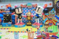 Hong Kong 2015 CONTRE l'événement de jeu de Bomberman Photographie stock