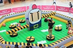 Hong Kong 2015 CONTRO l'evento del gioco di Bomberman Immagini Stock Libere da Diritti