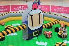 Hong Kong 2015 CONTRO l'evento del gioco di Bomberman Fotografia Stock Libera da Diritti