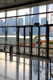 Hong Kong Convention and Exhibition Centre Stock Photography