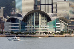 Hong Kong Convention and Exhibition Centre Stock Image