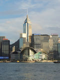 Hong Kong Convention and Exhibition Centre Royalty Free Stock Photography