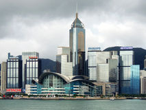 Hong Kong Convention and Exhibition Centre Royalty Free Stock Photos
