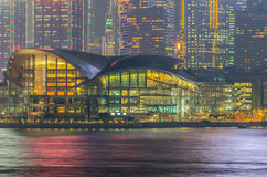 Hong Kong Convention & Exhibition Centre (HKCEC) Stock Images