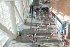 Hong Kong Convention & Exhibition Centre Stock Photo