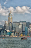 Hong Kong Convention and Exhibition Centre Royalty Free Stock Images