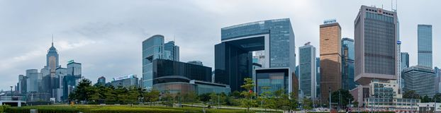 Hong Kong Corporate Buildings image stock