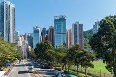 Hong Kong Corporate Buildings image libre de droits