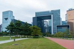 Hong Kong Corporate Buildings photo libre de droits