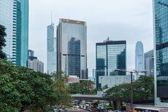 Hong Kong Corporate Buildings photographie stock libre de droits
