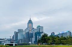 Hong Kong Corporate Buildings photos libres de droits