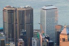Hong Kong Corporate Buildings photo stock