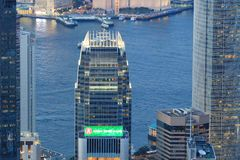 Hong Kong Corporate Buildings images libres de droits