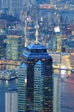 Hong Kong Corporate Buildings photographie stock