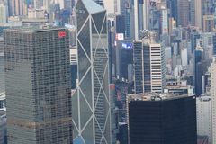 Hong Kong Corporate Buildings photos stock