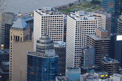 Hong Kong Corporate Buildings photo stock