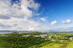 Hong Kong countryside Stock Photo