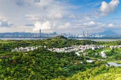 Hong Kong countryside Royalty Free Stock Photo