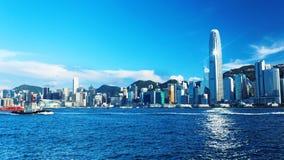 Hong Kong crowded building Royalty Free Stock Photos