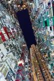 Hong Kong crowded building Stock Image