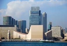 Hong Kong: Cultural Center Stock Photo