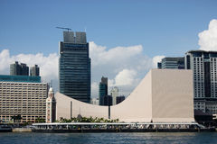 Hong Kong Cultural Centre Royalty Free Stock Images