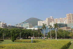 Hong kong, cyberport Stock Photos