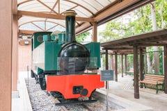 Hong Kong - 4 décembre 2015 : Hong Kong Railway Museum un hist célèbre Photos stock