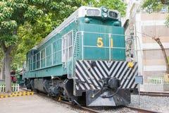 Hong Kong - 4 décembre 2015 : Hong Kong Railway Museum un hist célèbre Images libres de droits