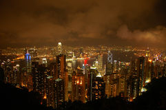 Hong Kong déprimé Photo stock