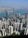 Hong Kong dal picco immagini stock libere da diritti