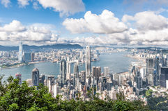 Hong Kong at Day Stock Photo