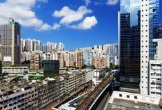 Hong Kong Day, pinzas de Kwun distrae Fotos de archivo