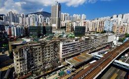 Hong Kong Day, pinzas de Kwun distrae Imagen de archivo
