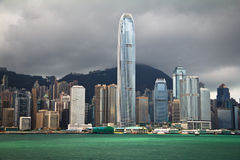 Hong Kong Day View Stock Image
