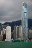 Hong Kong Day View Stock Photo