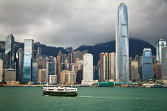 Hong Kong Day View Royalty Free Stock Image