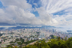 Hong Kong in the daytime Royalty Free Stock Photography