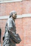 Hong Kong - 2 de dezembro de 2015: Estátua do Dr. Sun Yat-sen no Dr. Sun Yat-sen Fotografia de Stock Royalty Free