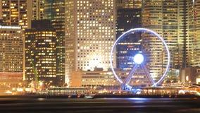 HONG KONG - 17 DE ENERO: Horizonte en enero 17,2015 de Hong Kong Fotos de archivo