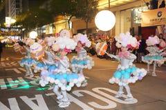 Hong Kong: De internationale Chinese Parade 2015 van de Nieuwjaarnacht Stock Afbeelding
