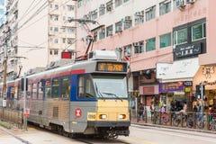 Hong Kong, Dec - 03 2015: Hong Kong MTR światła poręcz System op Obrazy Royalty Free