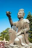 Hong Kong - Dec 11 2015: Statue at Tian Tan Buddha. a famous Tou Royalty Free Stock Photos