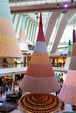 Shopping mall in Hong Kong Stock Photo