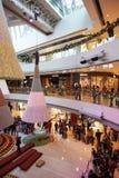 Shopping mall in Hong Kong Stock Photos