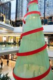 Shopping mall in Hong Kong Stock Image