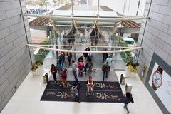 Shopping mall in Hong Kong Royalty Free Stock Images